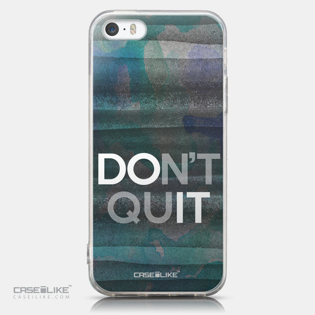 CASEiLIKE Apple iPhone 5GS back cover Quote 2431