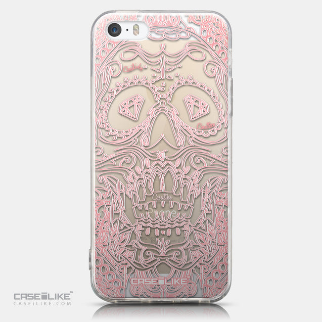 CASEiLIKE Apple iPhone 5GS back cover Art of Skull 2525