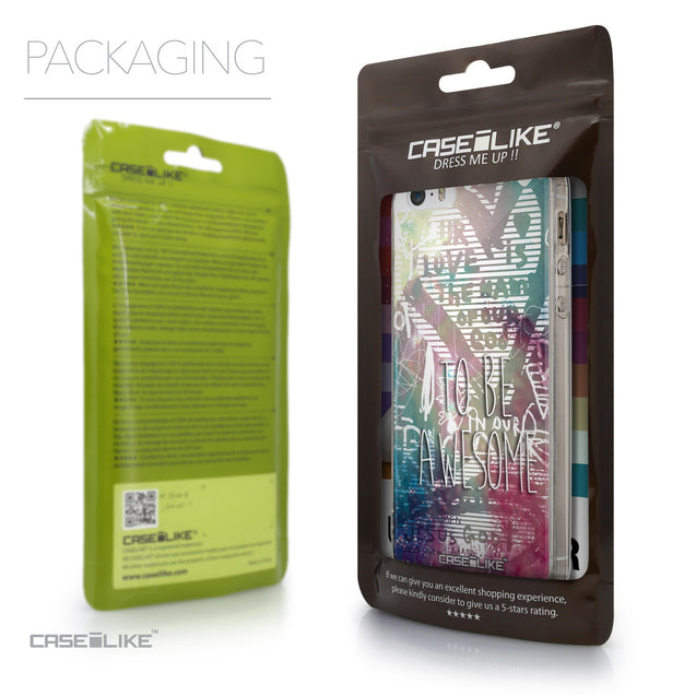 Packaging - CASEiLIKE Apple iPhone 5GS back cover Graffiti 2726