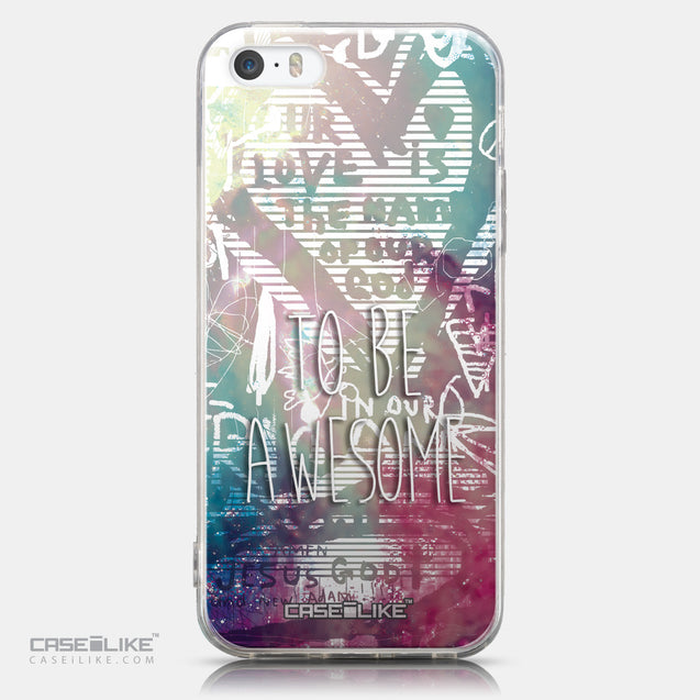 CASEiLIKE Apple iPhone 5GS back cover Graffiti 2726