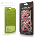 Packaging - CASEiLIKE Apple iPhone 5GS back cover Comic Captions Pink 2912