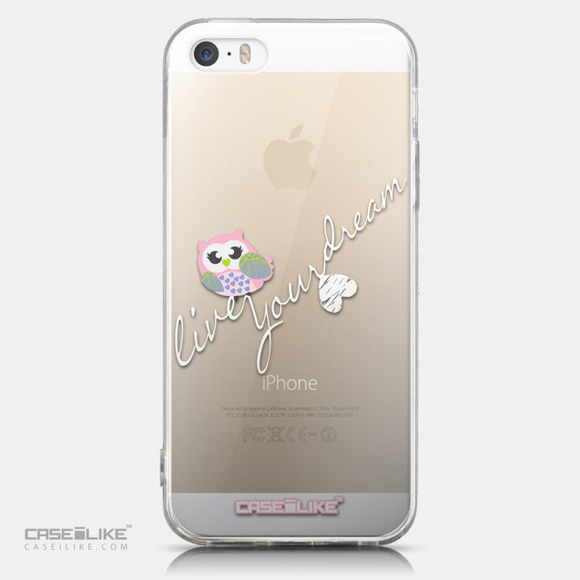 CASEiLIKE Apple iPhone 5GS back cover Owl Graphic Design 3314