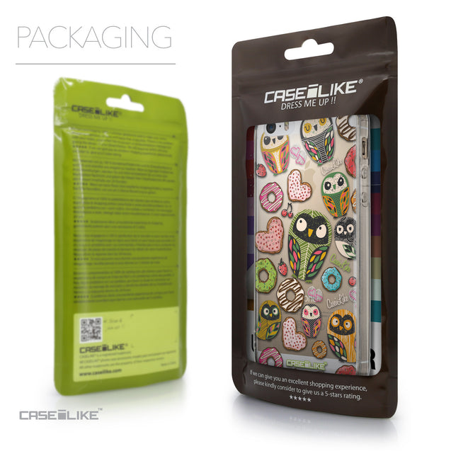 Packaging - CASEiLIKE Apple iPhone 5GS back cover Owl Graphic Design 3315