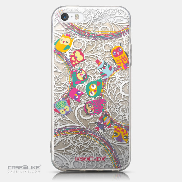CASEiLIKE Apple iPhone 5GS back cover Owl Graphic Design 3316