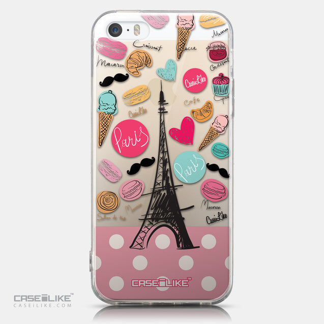 CASEiLIKE Apple iPhone 5GS back cover Paris Holiday 3904
