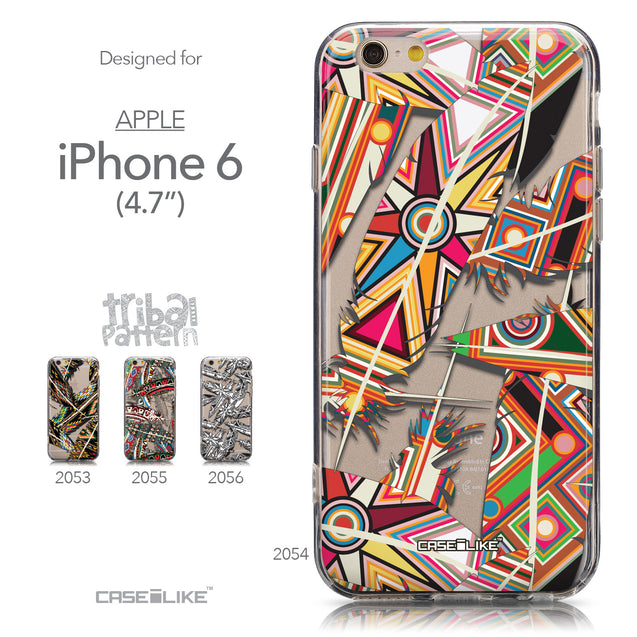 Collection - CASEiLIKE Apple iPhone 6 back cover Indian 2054 Tribal Theme Pattern