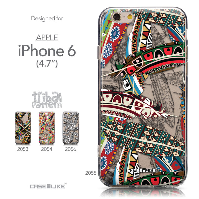 Collection - CASEiLIKE Apple iPhone 6 back cover Indian 2055 Tribal Theme Pattern