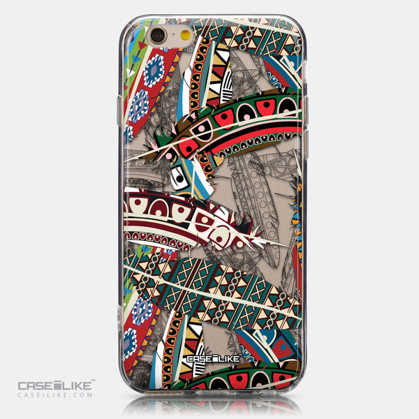 CASEiLIKE Apple iPhone 6 back cover Indian 2055 Tribal Theme Pattern