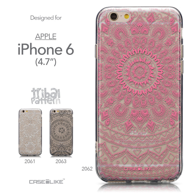 Collection - CASEiLIKE Apple iPhone 6 back cover Indian Line Art 2062