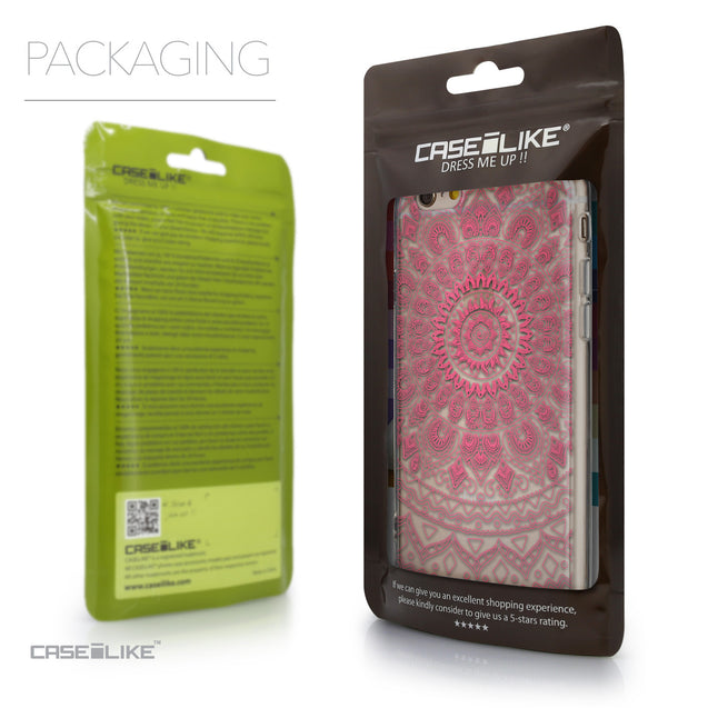 Packaging - CASEiLIKE Apple iPhone 6 back cover Indian Line Art 2062