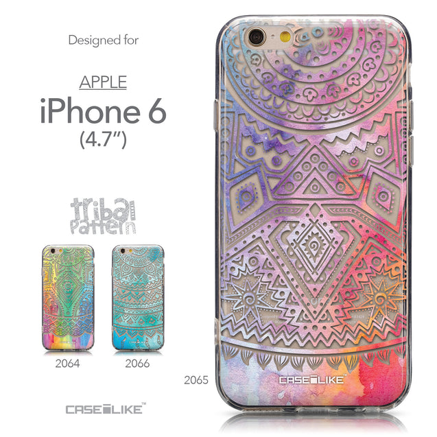 Collection - CASEiLIKE Apple iPhone 6 back cover Indian Line Art 2065