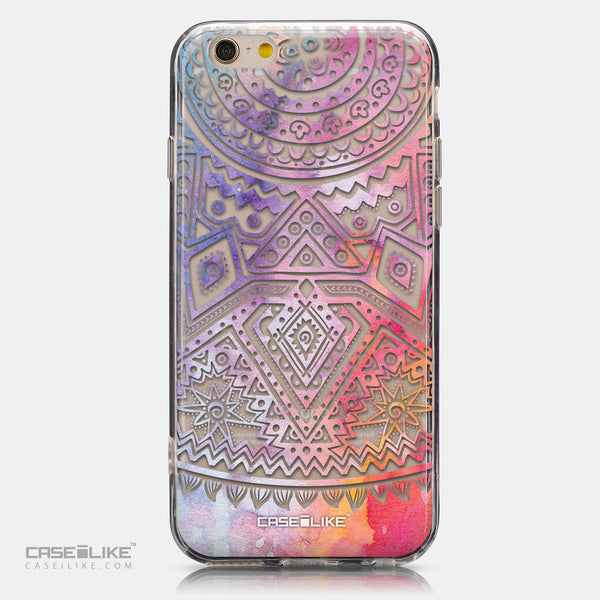 CASEiLIKE Apple iPhone 6 back cover Indian Line Art 2065