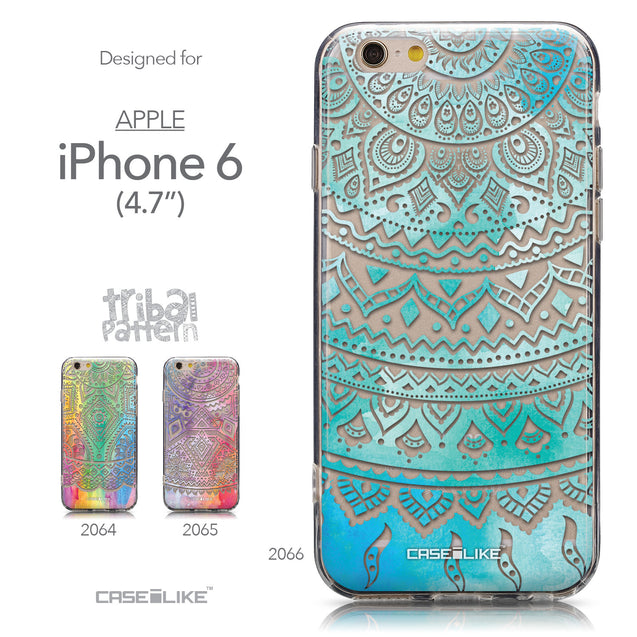 Collection - CASEiLIKE Apple iPhone 6 back cover Indian Line Art 2066