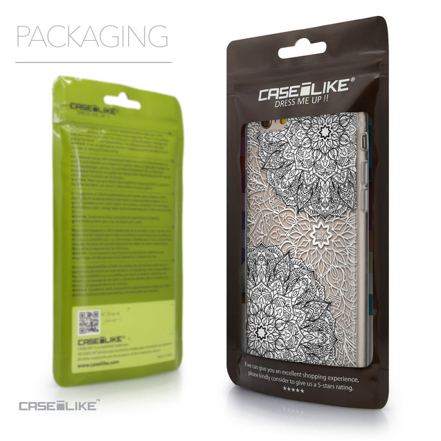 Packaging - CASEiLIKE Apple iPhone 6 back cover Mandala Art 2093