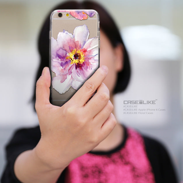 Share - CASEiLIKE Apple iPhone 6 back cover Watercolor Floral 2231