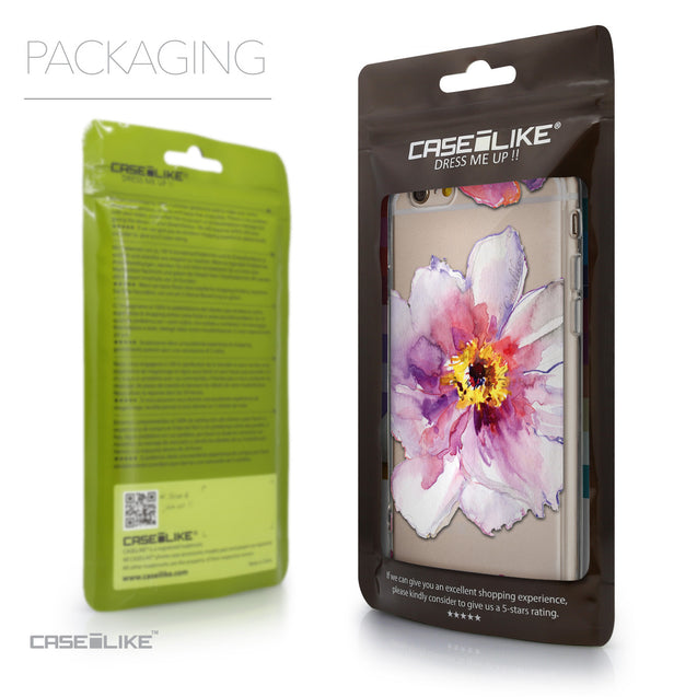 Packaging - CASEiLIKE Apple iPhone 6 back cover Watercolor Floral 2231