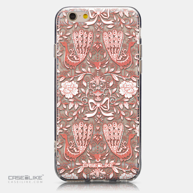 CASEiLIKE Apple iPhone 6 back cover Roses Ornamental Skulls Peacocks 2237
