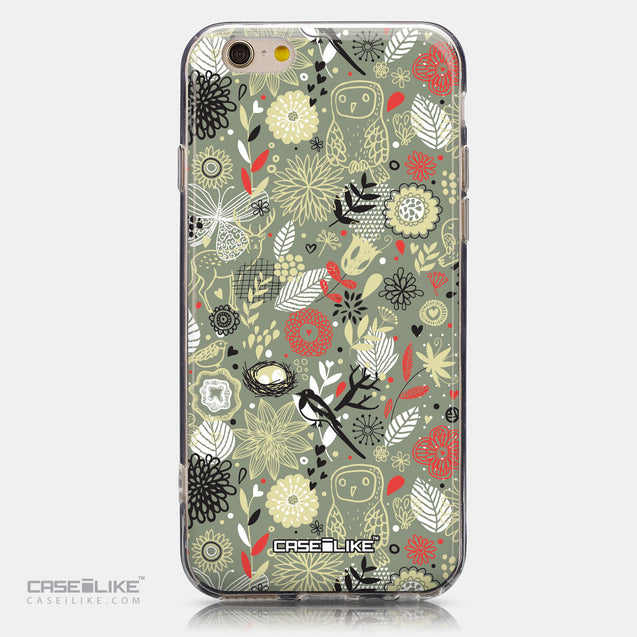 CASEiLIKE Apple iPhone 6 back cover Spring Forest Gray 2243