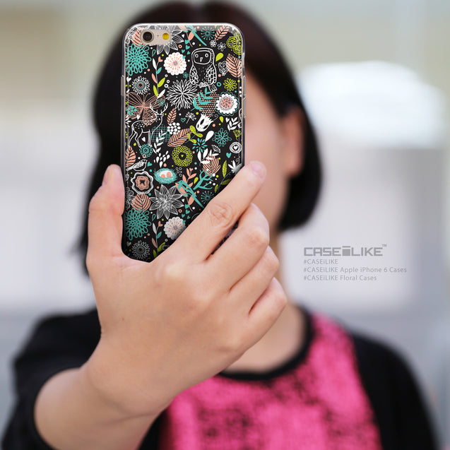 Share - CASEiLIKE Apple iPhone 6 back cover Spring Forest Black 2244