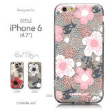 Collection - CASEiLIKE Apple iPhone 6 back cover Japanese Floral 2255