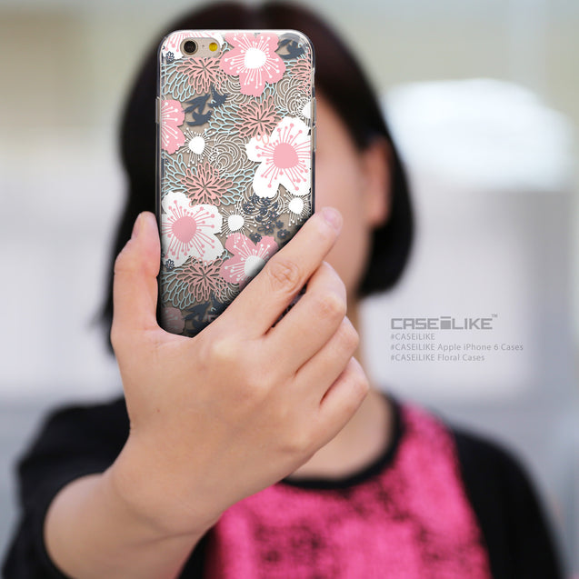 Share - CASEiLIKE Apple iPhone 6 back cover Japanese Floral 2255