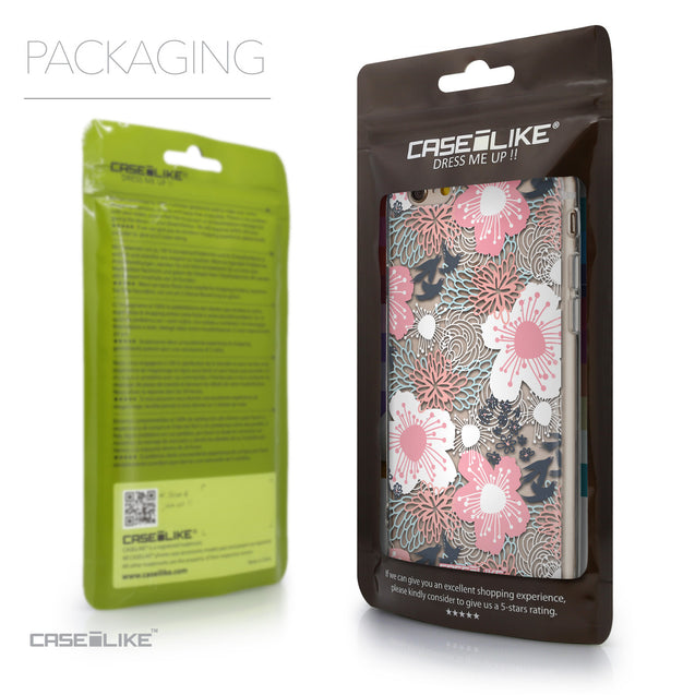Packaging - CASEiLIKE Apple iPhone 6 back cover Japanese Floral 2255