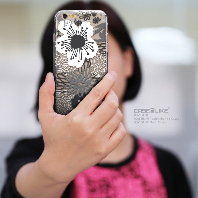 Share - CASEiLIKE Apple iPhone 6 back cover Japanese Floral 2256