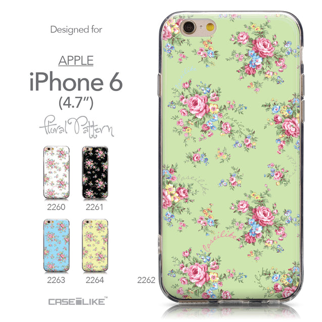Collection - CASEiLIKE Apple iPhone 6 back cover Floral Rose Classic 2262