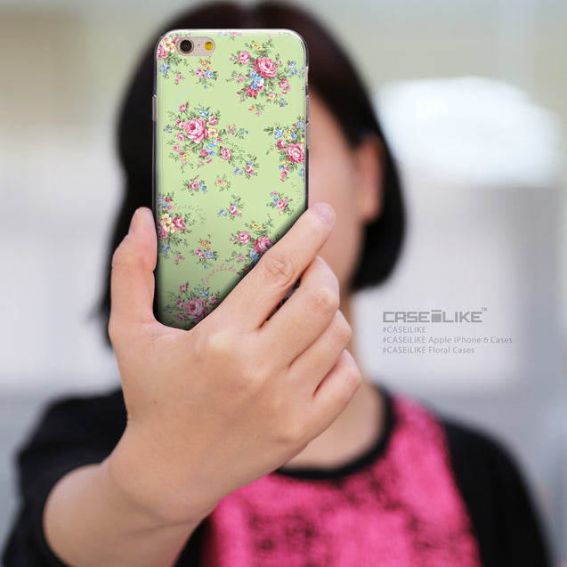 Share - CASEiLIKE Apple iPhone 6 back cover Floral Rose Classic 2262