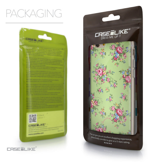 Packaging - CASEiLIKE Apple iPhone 6 back cover Floral Rose Classic 2262