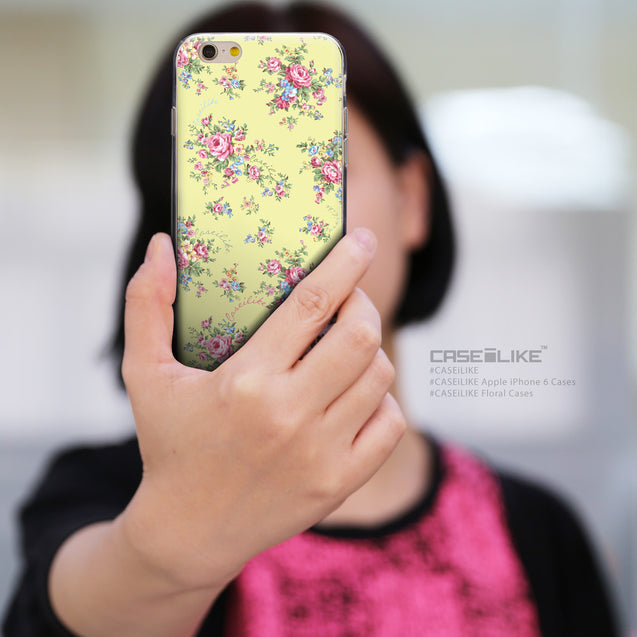 Share - CASEiLIKE Apple iPhone 6 back cover Floral Rose Classic 2264