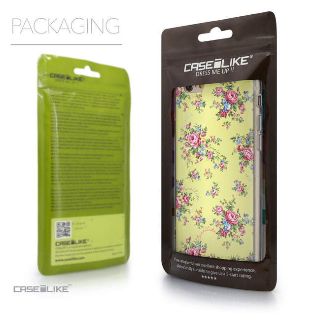 Packaging - CASEiLIKE Apple iPhone 6 back cover Floral Rose Classic 2264