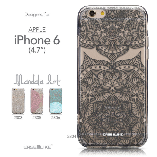 Collection - CASEiLIKE Apple iPhone 6 back cover Mandala Art 2304