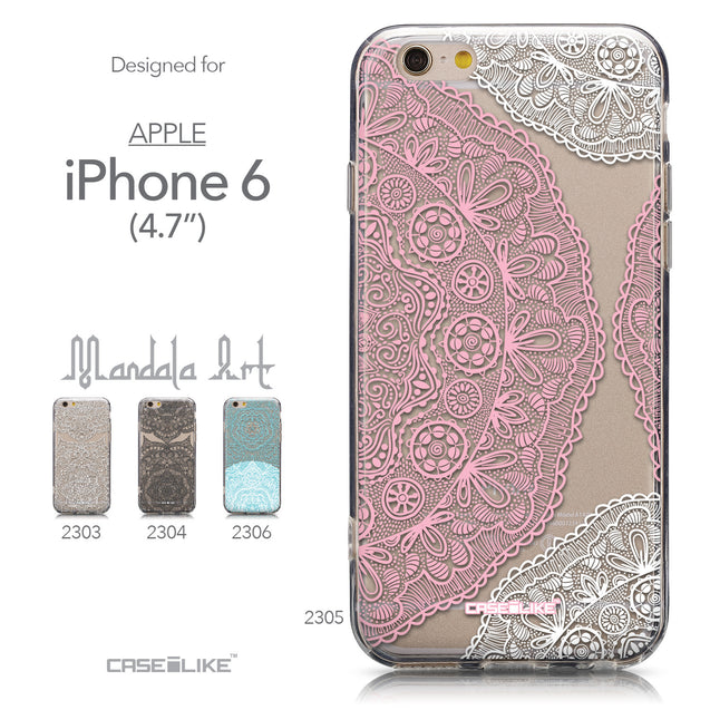 Collection - CASEiLIKE Apple iPhone 6 back cover Mandala Art 2305