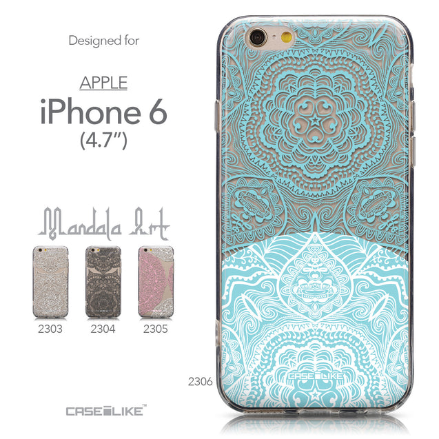 Collection - CASEiLIKE Apple iPhone 6 back cover Mandala Art 2306