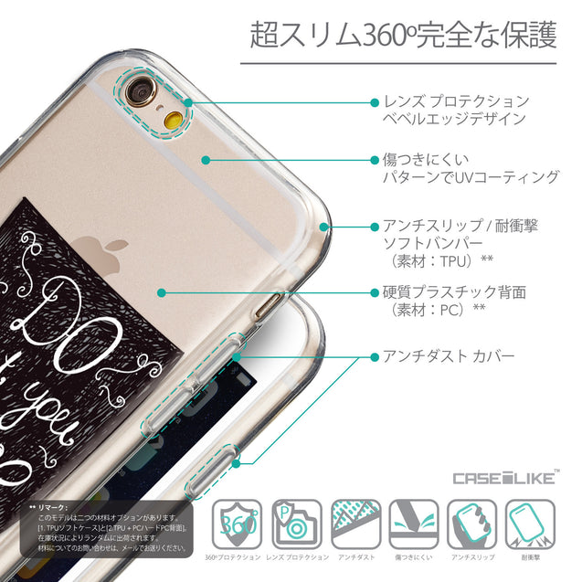 Details in Japanese - CASEiLIKE Apple iPhone 6 back cover Quote 2400