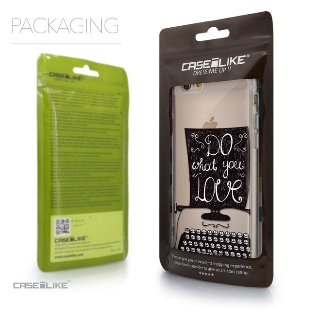 Packaging - CASEiLIKE Apple iPhone 6 back cover Quote 2400