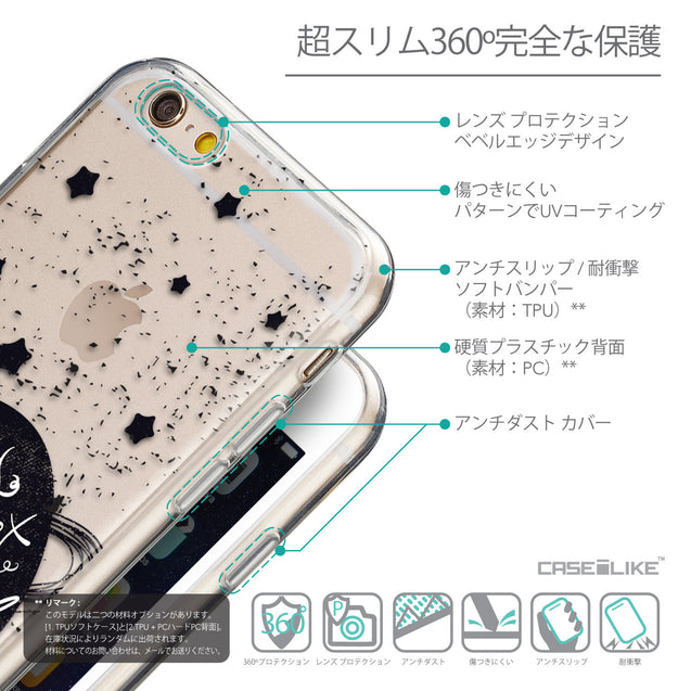 Details in Japanese - CASEiLIKE Apple iPhone 6 back cover Quote 2401