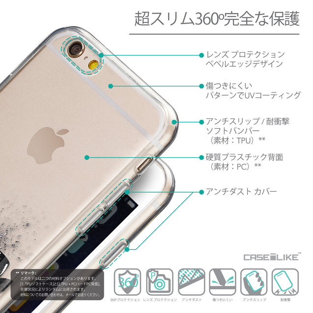 Details in Japanese - CASEiLIKE Apple iPhone 6 back cover Quote 2402
