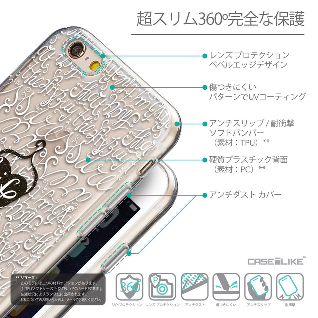 Details in Japanese - CASEiLIKE Apple iPhone 6 back cover Indian 2053 Tribal Theme Pattern
