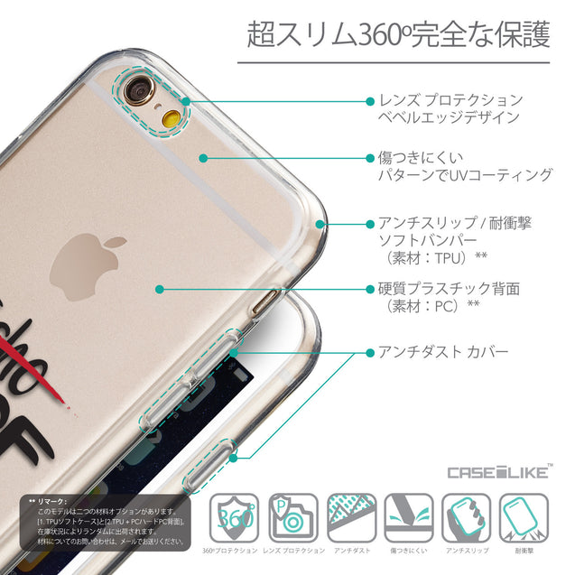 Details in Japanese - CASEiLIKE Apple iPhone 6 back cover Quote 2405