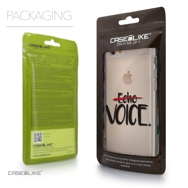 Packaging - CASEiLIKE Apple iPhone 6 back cover Quote 2405