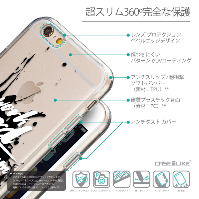 Details in Japanese - CASEiLIKE Apple iPhone 6 back cover Quote 2414