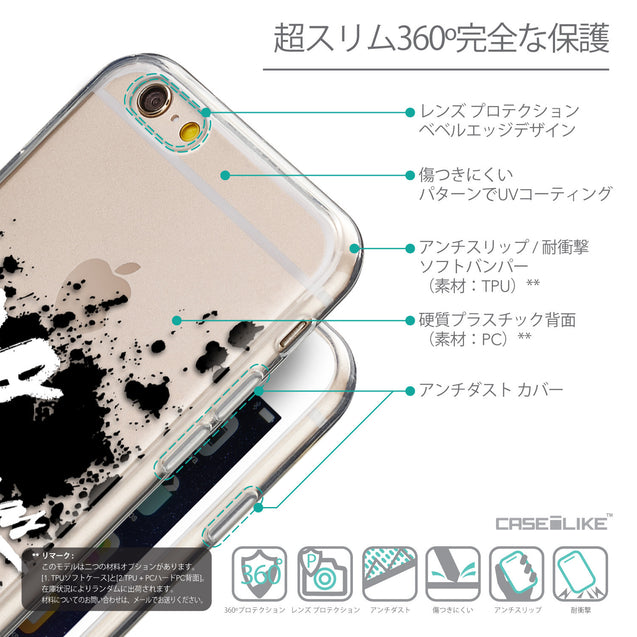 Details in Japanese - CASEiLIKE Apple iPhone 6 back cover Quote 2415