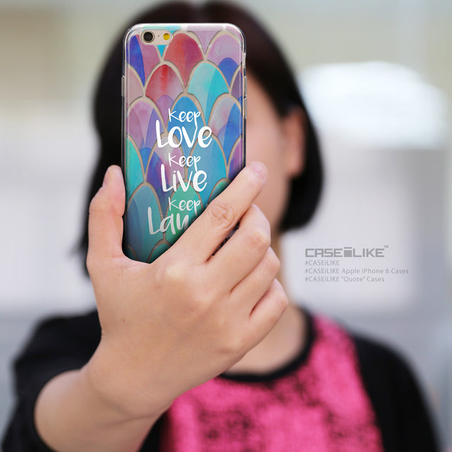Share - CASEiLIKE Apple iPhone 6 back cover Quote 2417