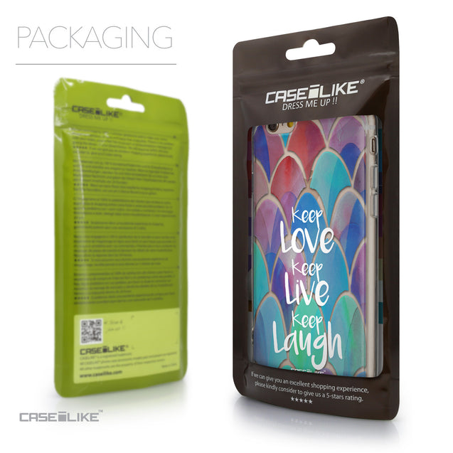 Packaging - CASEiLIKE Apple iPhone 6 back cover Quote 2417