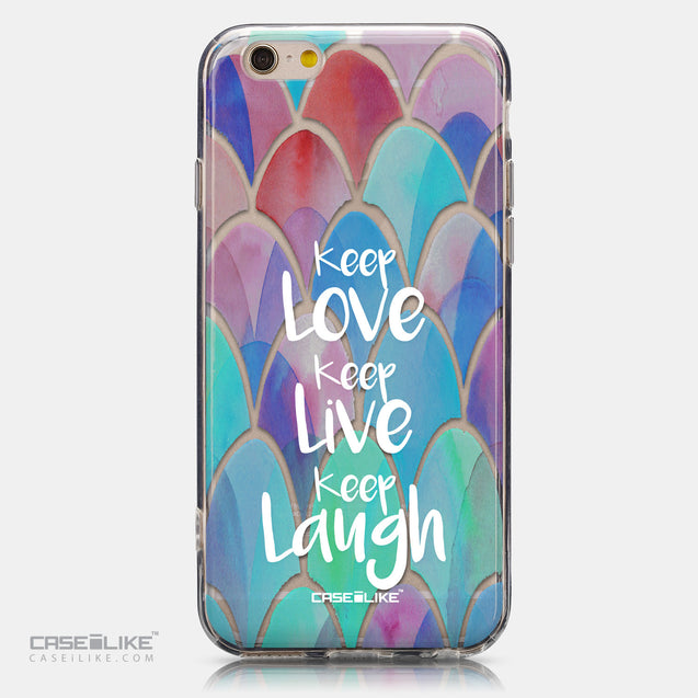 CASEiLIKE Apple iPhone 6 back cover Quote 2417