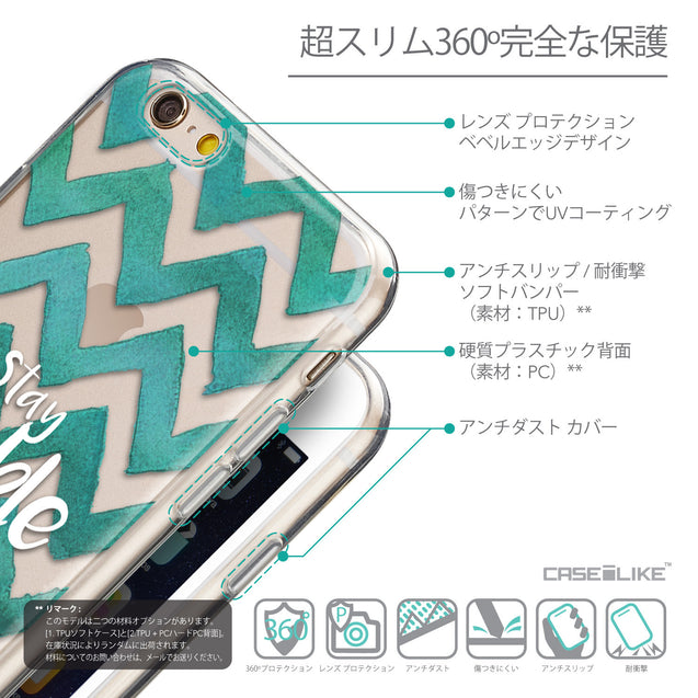 Details in Japanese - CASEiLIKE Apple iPhone 6 back cover Quote 2418