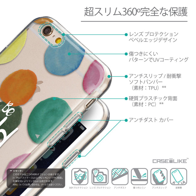Details in Japanese - CASEiLIKE Apple iPhone 6 back cover Quote 2420