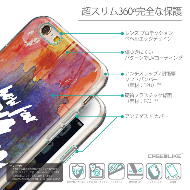 Details in Japanese - CASEiLIKE Apple iPhone 6 back cover Quote 2421